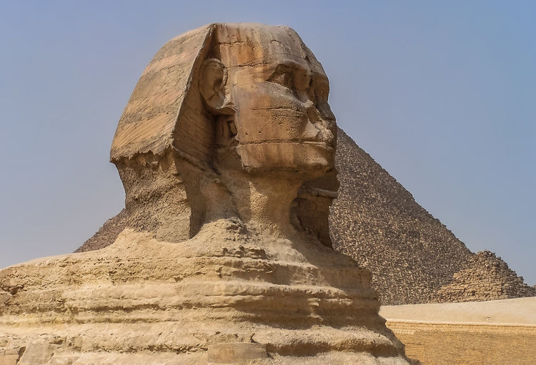 View of sphinx