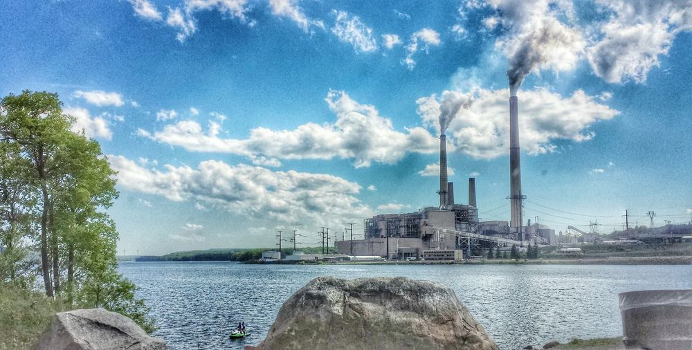 Power plant in