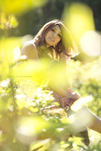 Portrait Sunshine モデル 作品撮り Beautiful Woman カメラマン 被写体 被写体募集