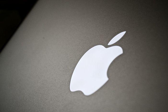 MacBook Air Apple Fruit Logo Macbook Air Macro White