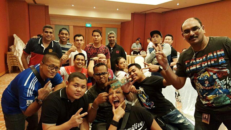 Resorts World Sentosa Convention Center Crazy Class Team Spirit