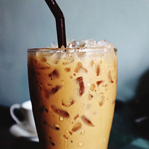 Drink Food And Drink Coffee - Drink Close-up Refreshment Indoors  Freshness Focus On Foreground Drinking Glass Frothy Drink No People Iced Coffee Food Mocha Day