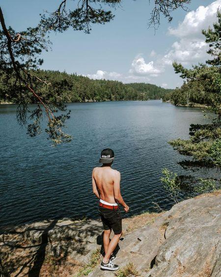Water Shirtless