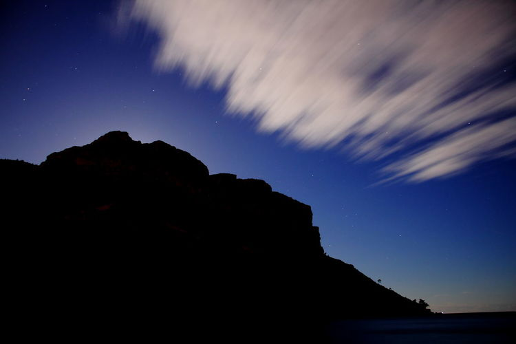 cap canaille by night Shadows & Lights Shadow Peaceful Landscape Peace And Quiet Montains    Peace Blue Quiet Moments Quiet Places Cap Canaille  Cloud Cloud - Sky Shadow Stars Long Exposure Longexposure Astronomy Star Trail Star - Space Mountain EyeEmNewHere A New Beginning