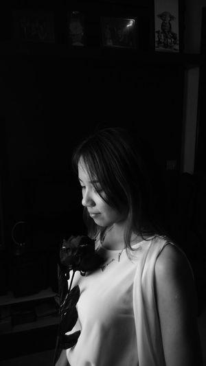 Black & White Potrait That's Me Taking Photos