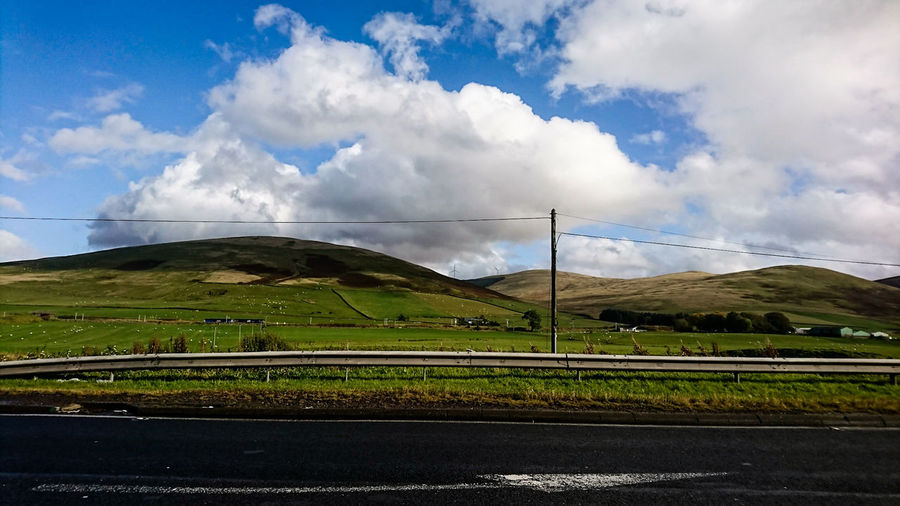 Clyde Valley Cloud - Sky Landscape Mountain Rural Scene Power In Nature Nature Sky Road Travelphotography landscape Nature photography Landscape Photography Big_sky