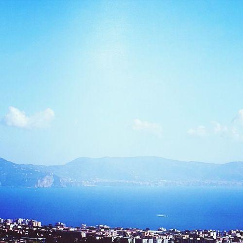Veduta sea Blue Sky