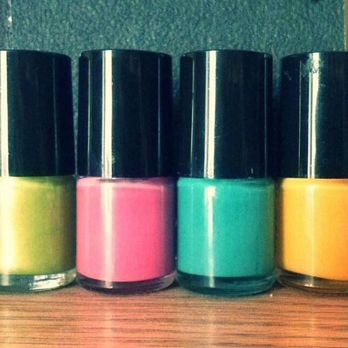Summer Color Nail Followingmy
