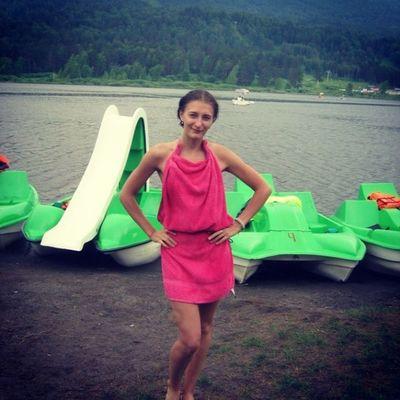 Замечательное полотенце)) Манжерок горный озеро мода платье