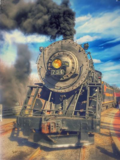 The big locomotive steam engine that powers the Western Maryland Scenic Railroad. Train Trains Locomotive Railroad Maryland