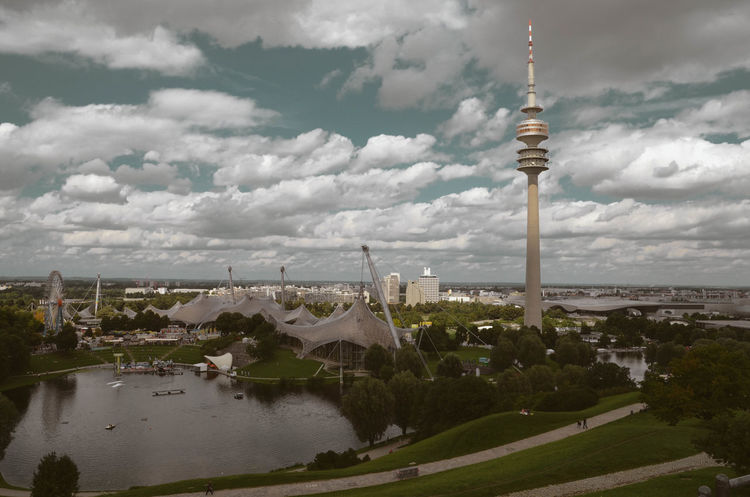 Tower Travel Destinations Architecture City Cityscape Cloud - Sky Outdoors Travel Landscape Sky Day Munich Germany