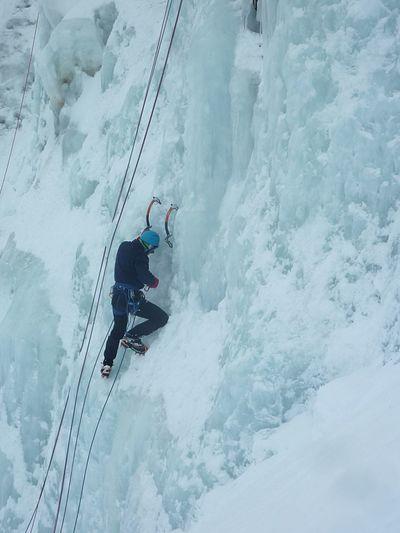 Mountaineering Iceclimbing Bielsa Ice Mountain Adventure Climbing Lifestyles Sport Extreme Sports Outdoors On The Wall Winter EyeEm Nature Lover