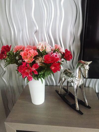 Flower Horse Silver  Summer