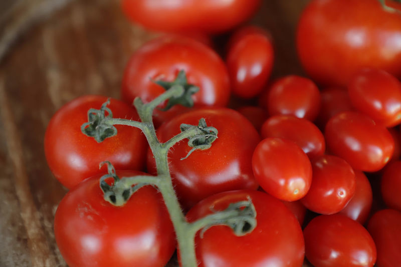 Close-up of tomatoes in market