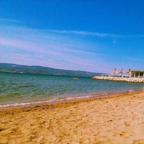 PlażingSun Summer August 2013 Chorwacjaholidaytravelplażaprzedłużamywakacjebeachmorzewaterwodalove