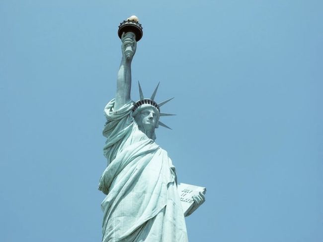 NYC NYC Photography Liberty Statue Outdoors Sculpture Sky Statue Travel Destinations
