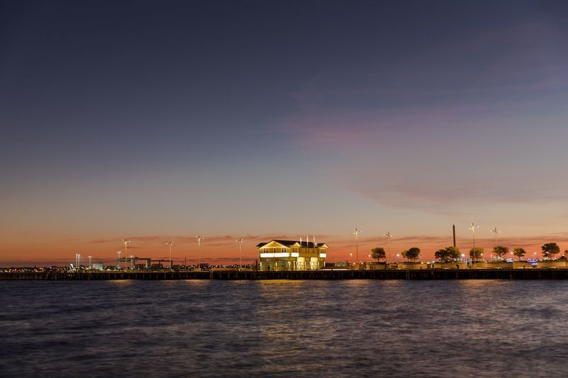 Beautiful sunset at Port Melbourne, Princess Pier. Long explosure up to 5 sec, capture this wonderful colour of the nature. Lifeofadventure Hello World Urban Exploration Urbanphotography Urban Landscape EyeEm Masterclass Colours Melbourne City Urbanexploration EyeEm Best Shots Sunset Sunset And Building Sunset_collection Majestic By The Sea Illuminated Cities At Night Long Exposure Stunning Melbourne Australia Pier Nightphotography Skyporn The City Light