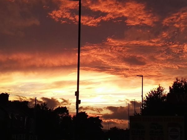 Clouds Clouds And Sky Sunsets Cloudsandsky Southyorkshire RedSky Handsworth Nofilternoedit Colour Of Life