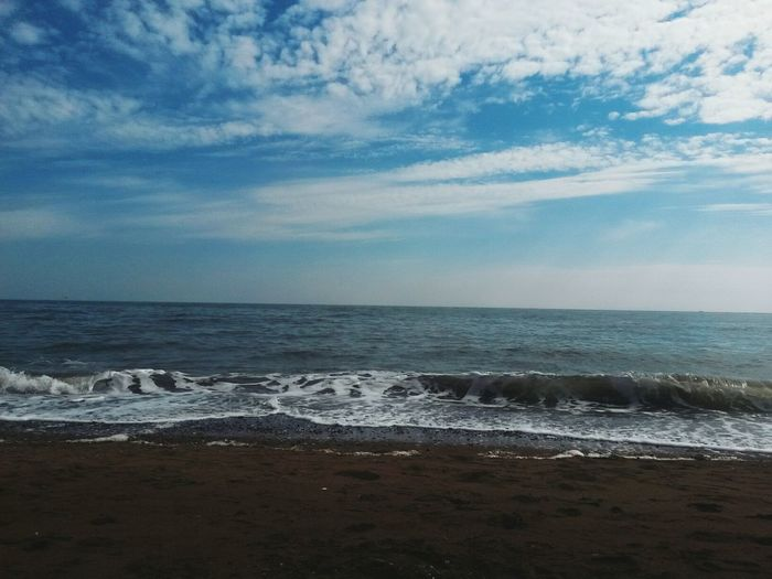 Feel to free! Sea And Sky Hello World Relax