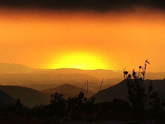 Lebanon Jezzine Summer2015 Sunset Montain  First Eyeem Photo