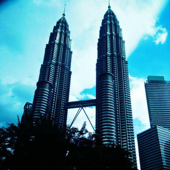 Petronas Towers also called as Petronas Twin Tower, Kuala lumpur, Malaysia.