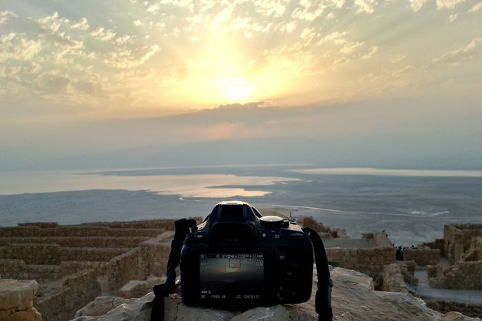 מצדה ישראל Masada Israel Sunrise Morning Morning Light Morning Sun Morning View Hike Desert Judean Desert Hikeordie