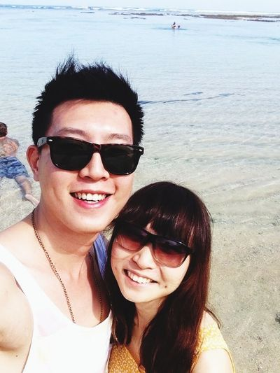 The day when we are together Enjoying Life Beach Bali