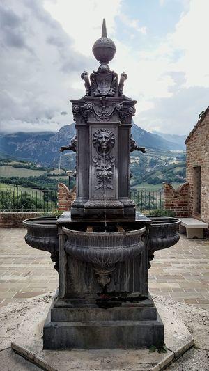 EyeEm Best Shots Water Panoramic View Balcony Fountain Water Fountain Wroughtiron Wrought Iron Design Design Urban Art
