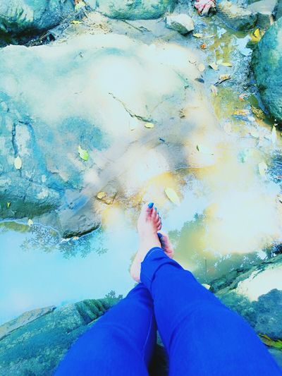 Reflection Multi Colored Blue Nature_collection Natural Beauty