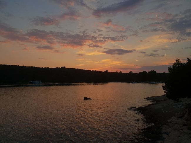 Sea Sunset Horizon Over Water EyeEm Selects Beach