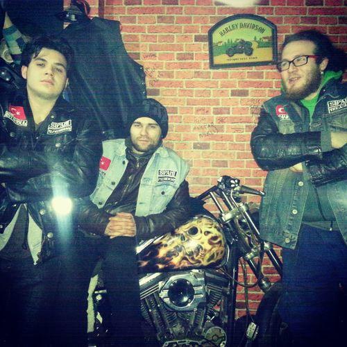 Enjoying Life SipahiMk Brothers Club House Motorcycle Sportster Horsemans