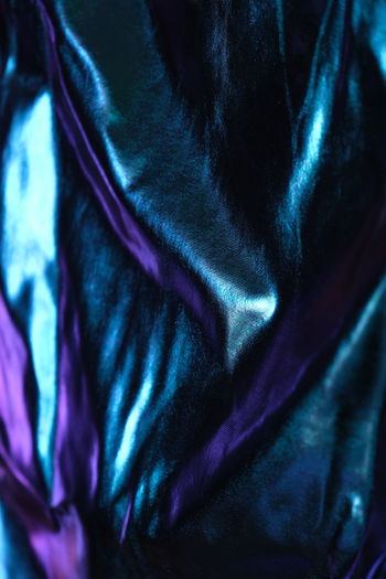 Full frame shot of purple eye