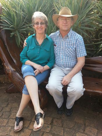 Walter Sisulu Botanical Gardens Linda and I