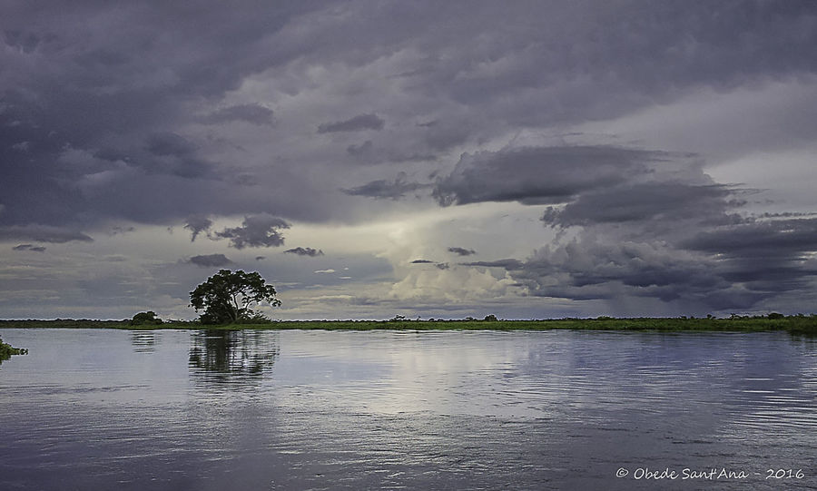 Brazil Cloud - Sky Landscape Nature No People Non-urban Scene Obede Sant'Ana Pantanal - Mato Grosso Tranquility Water