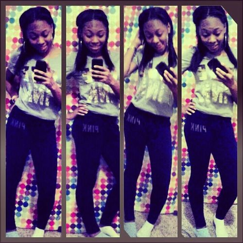 me tonight! ♥ #lovepink