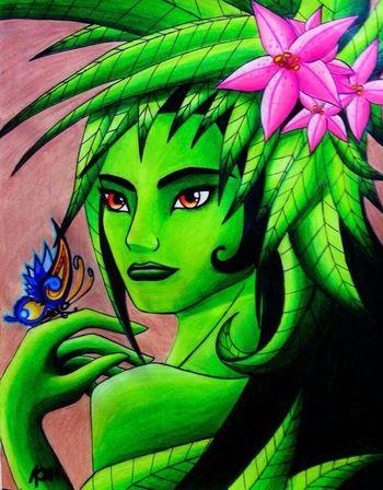 Fantasy Art Drawing