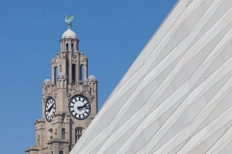 Royal liver building against sky
