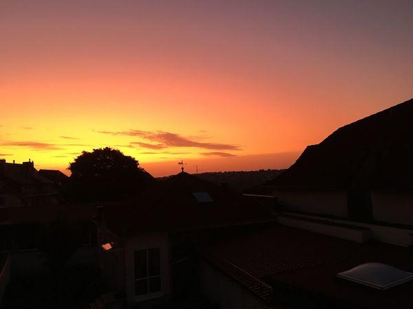 Sonnenaufgang Nature Einfach So :) Alltag Sky Remscheid Guten Morgen @ Home Stadt
