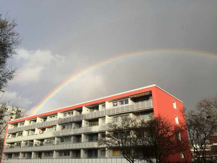 Regenbogen Iphoneonly Eye4photography  EyeEm Nature Lover IPhoneography Rainbows Rainbow Regenbogen ♡ Wünsch Dir Was! Hi! Hello World Hanging Out Check This Out