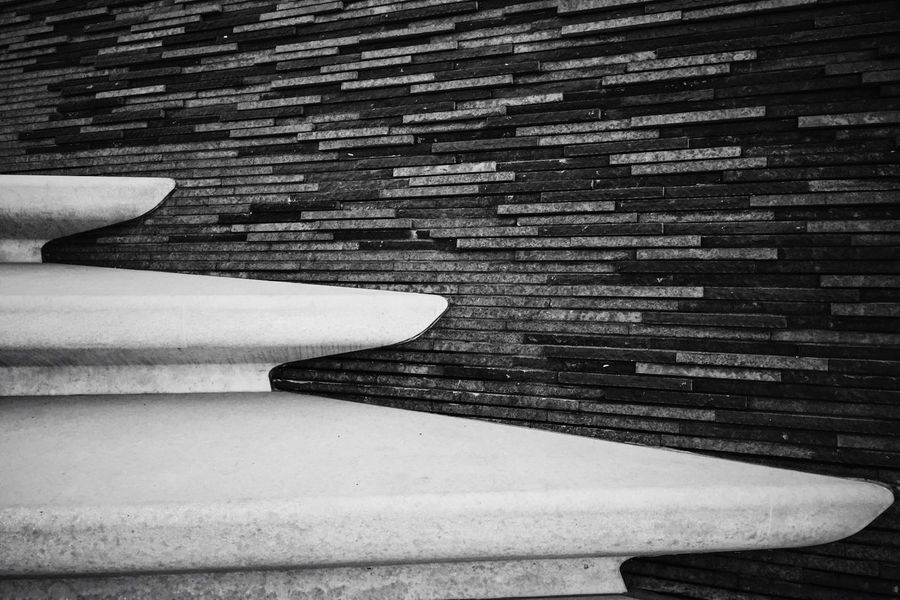 Learn & Shoot: Simplicity Stairs Blackandwhite Cologne Stepbystep