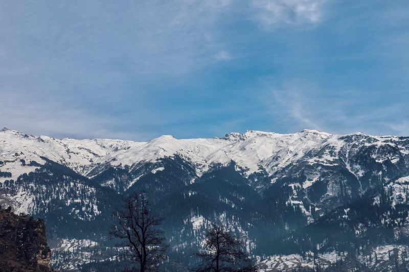Mountain Snow Winter Nature Beauty In Nature Cold Temperature Blue Sky Scenics Mountain Range Outdoors Range Day No People
