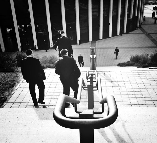 Blackandwhite Streetphoto_bw Busy At Work KCe