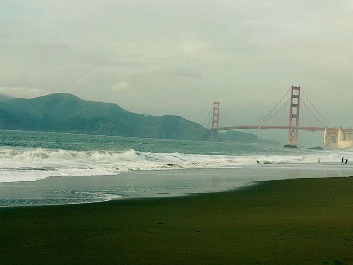 Beach Suspension Bridge Sea Travel Destinations Water Sand Bridge - Man Made Structure
