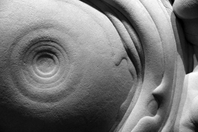Black & White Gogotte Natural History Museum Abstract Close-up Indoors  Natural Formation Natural Phenomena No People Stone