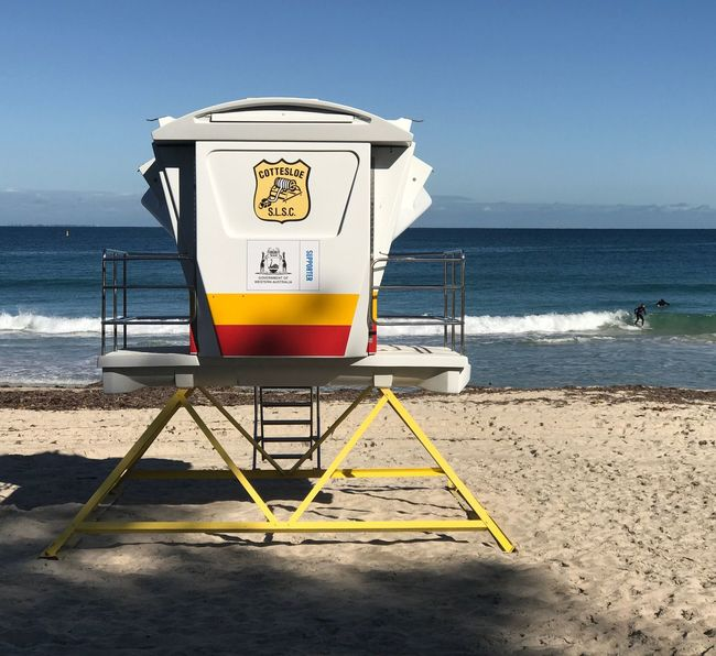 Paint The Town Yellow Sea Lifeguard Hut Beauty In Nature Getty Images TheMinimals (less Edit Juxt Photography) Shootermag Shootermag_australia Done That.