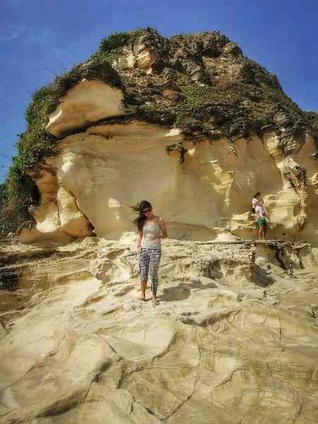 Kapurpurawan Rock Formation. ©kmcm Blue Sky NaturesBest