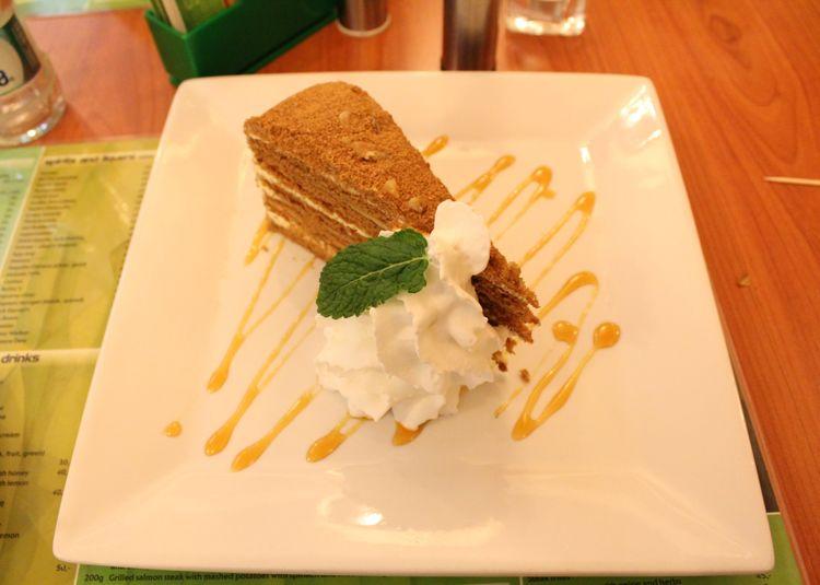 Dessert in