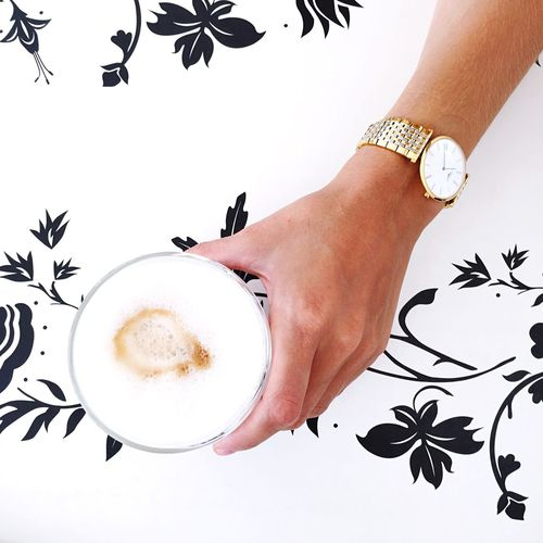 It's coffee time.