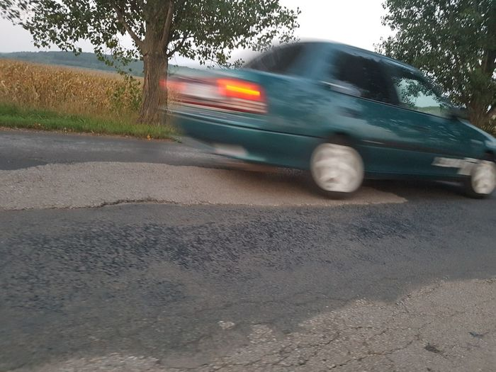 The Drive Car Transportation Road Speed Blurred Motion Driving Outdoors Day No People