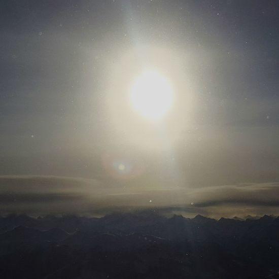 Am Morgen in Kitzbühel Winterzeit Kitzbühel